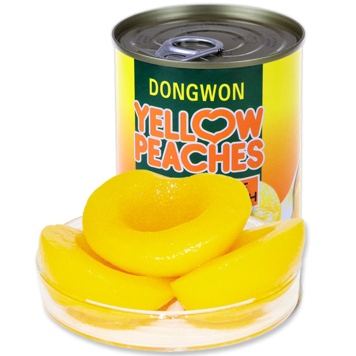 425g canned cling peach without stone